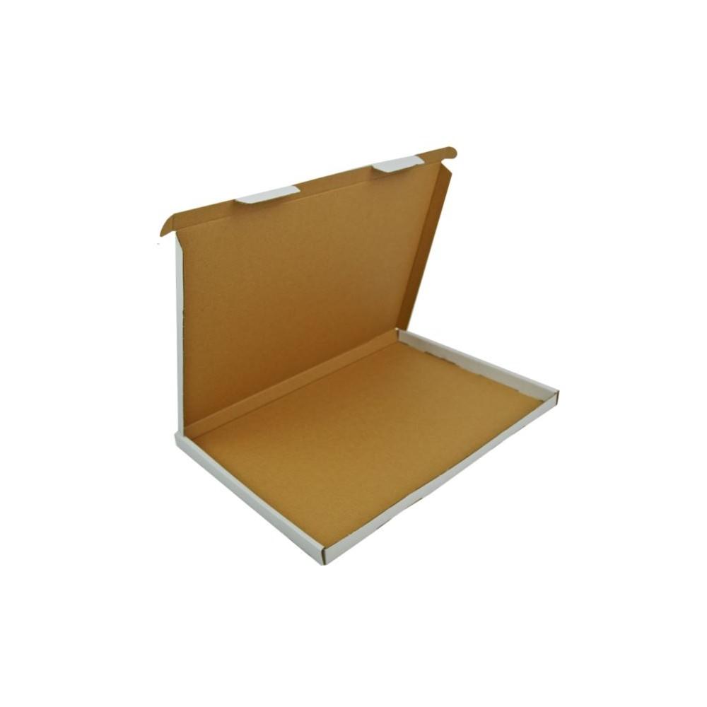 Karton fasonowy 332X246X17 (350x250x20) biały