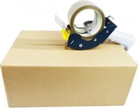 Dyspenser do taśm pakowych 75mm metalowy SZWED_22772