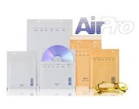 Koperty bąbelkowe CD AirPro białe 100 szt._22780