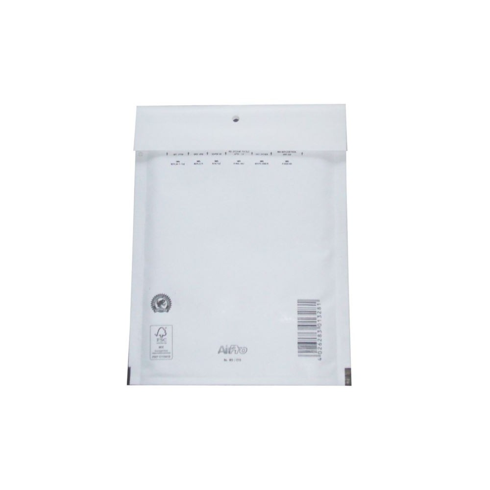 Koperty bąbelkowe C13 AirPro białe 100 szt.
