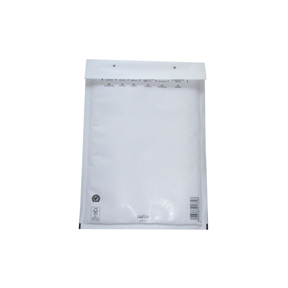 Koperty bąbelkowe G17 AirPro białe 100 szt.