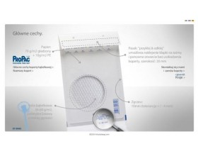 Koperty bąbelkowe AirPro K20 białe 50 szt._22922