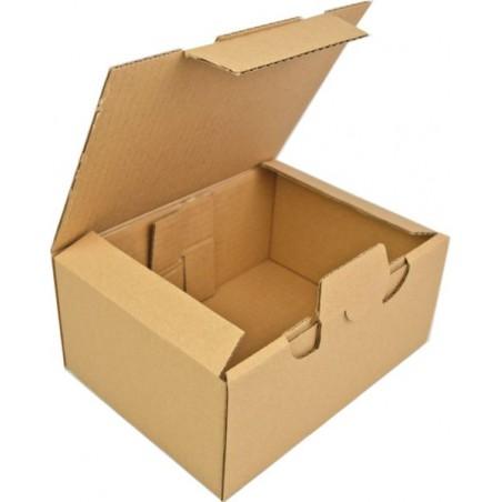 Karton fasonowy 220x170x100mm 3w brązowy