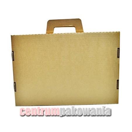 Karton fasonowy 3w 330x233x47 teczka z uchwytem