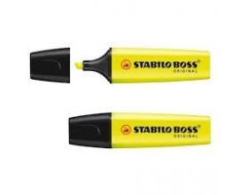 Zakreślacz żółty STABILO BOSS_24036