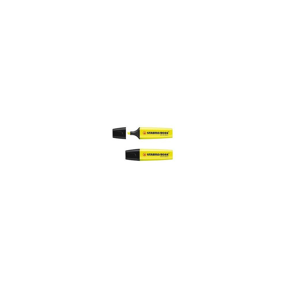 Zakreślacz żółty STABILO BOSS