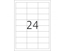 Etykieta bez nadruku 70/37 arkusz (2400 etykiet)_24330