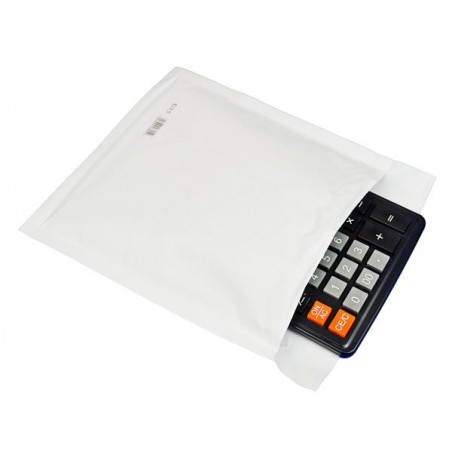 Koperty bąbelkowe CD ECO-PROTECT  białe 100 szt.