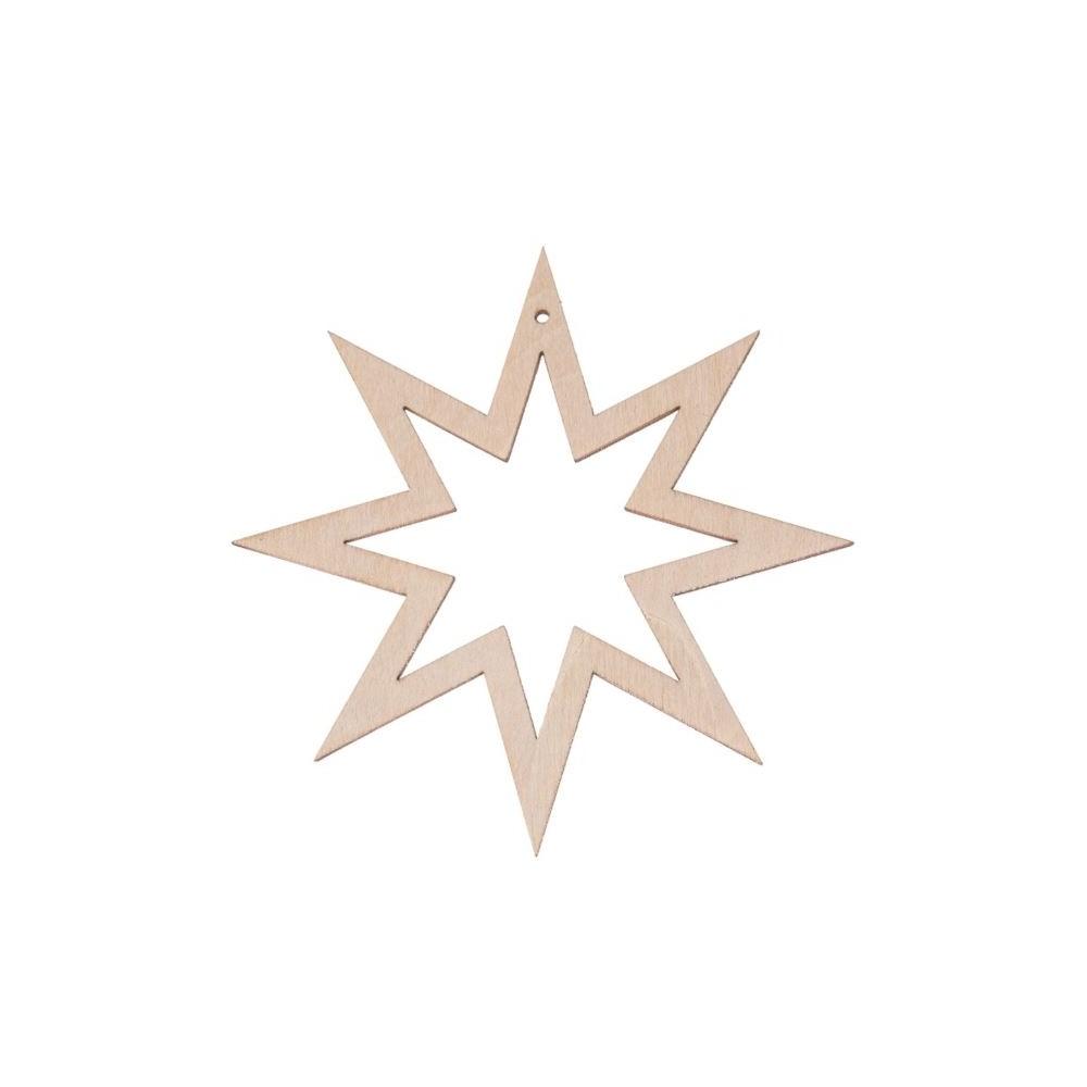 Zawieszka świąteczna - GWIAZDKA 11x11cm