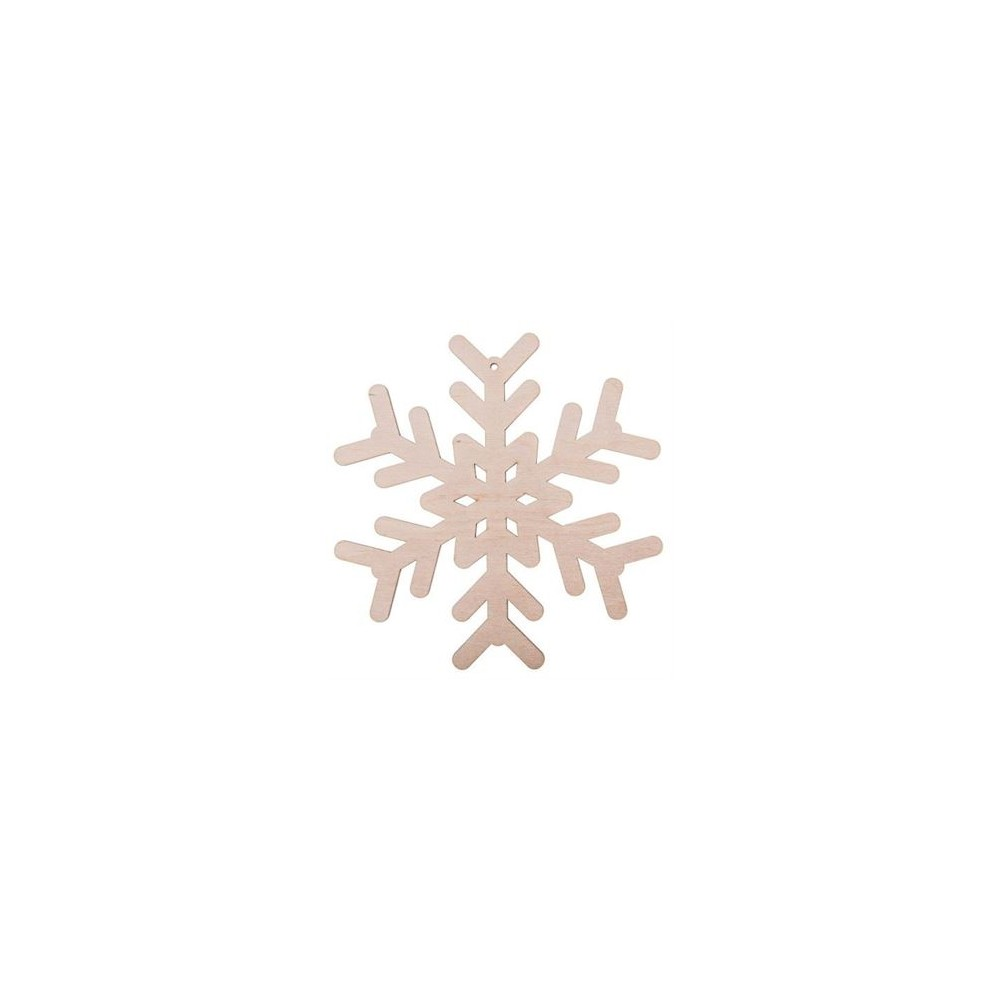 Zawieszka świąteczna - Śniezynka 11x11cm