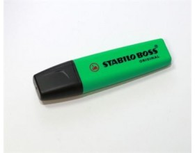 Zakreślacz zielony STABILO BOSS_25082