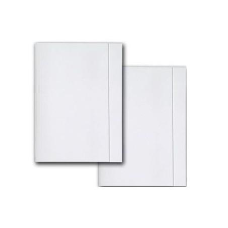 Teczka A4 biała z gumką KIEL-TECH