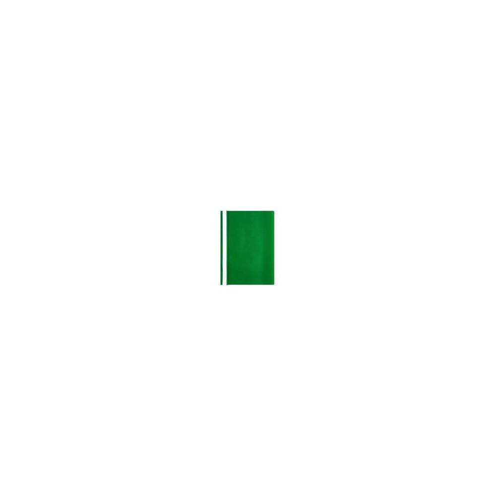 Skoroszyt plastikowy A4 zielony IDEST