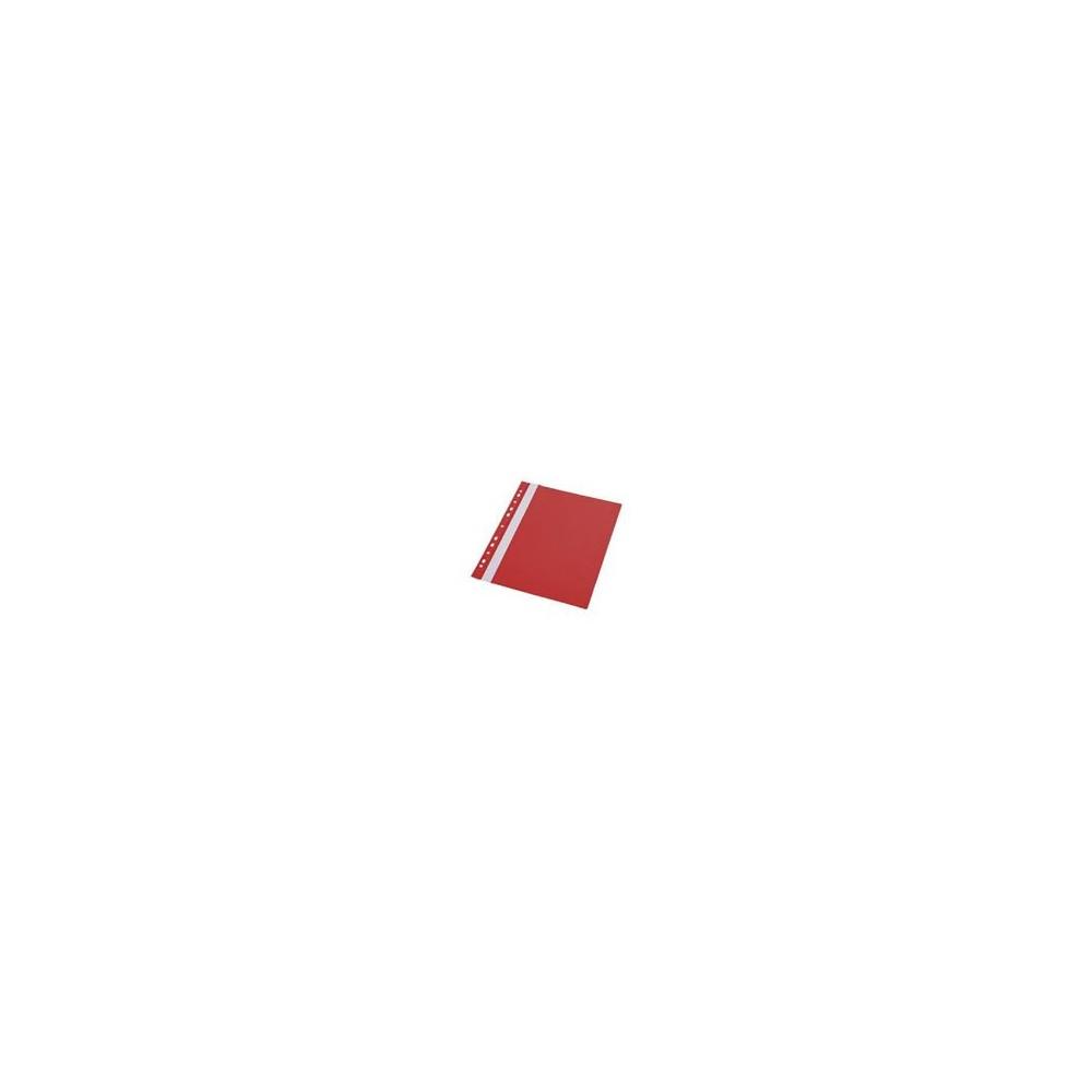 Skoroszyt plastikowy A4 czerwony  BIURFOL