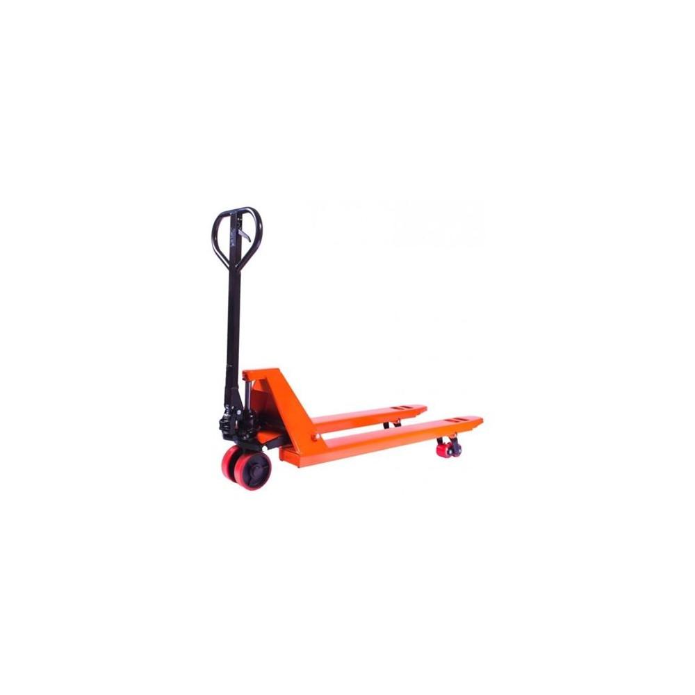 Wózek ręczny paletowy 1150mm / 2 t  pomarańczowy