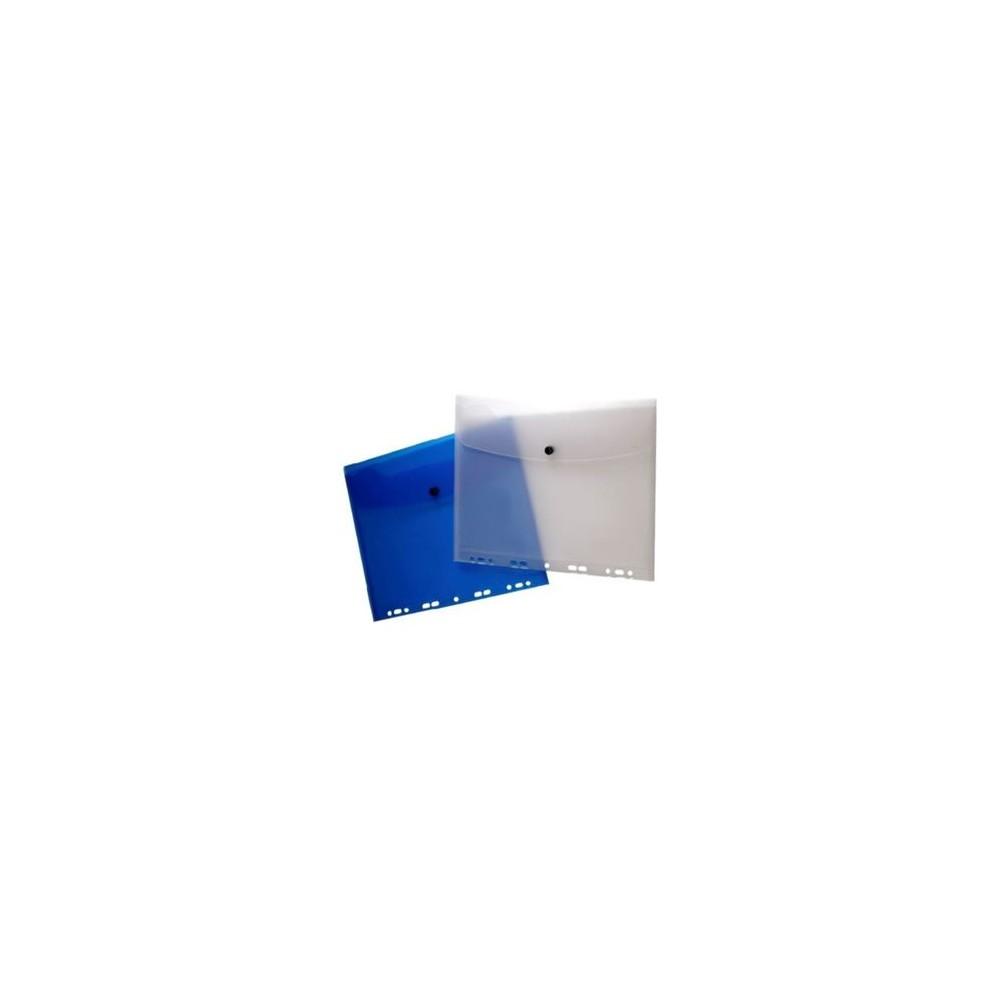 Teczka kopertowa A4 do segregatora transparentna