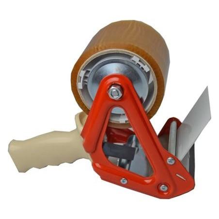 Dyspenser do taśm pakowych 75mm metalowy