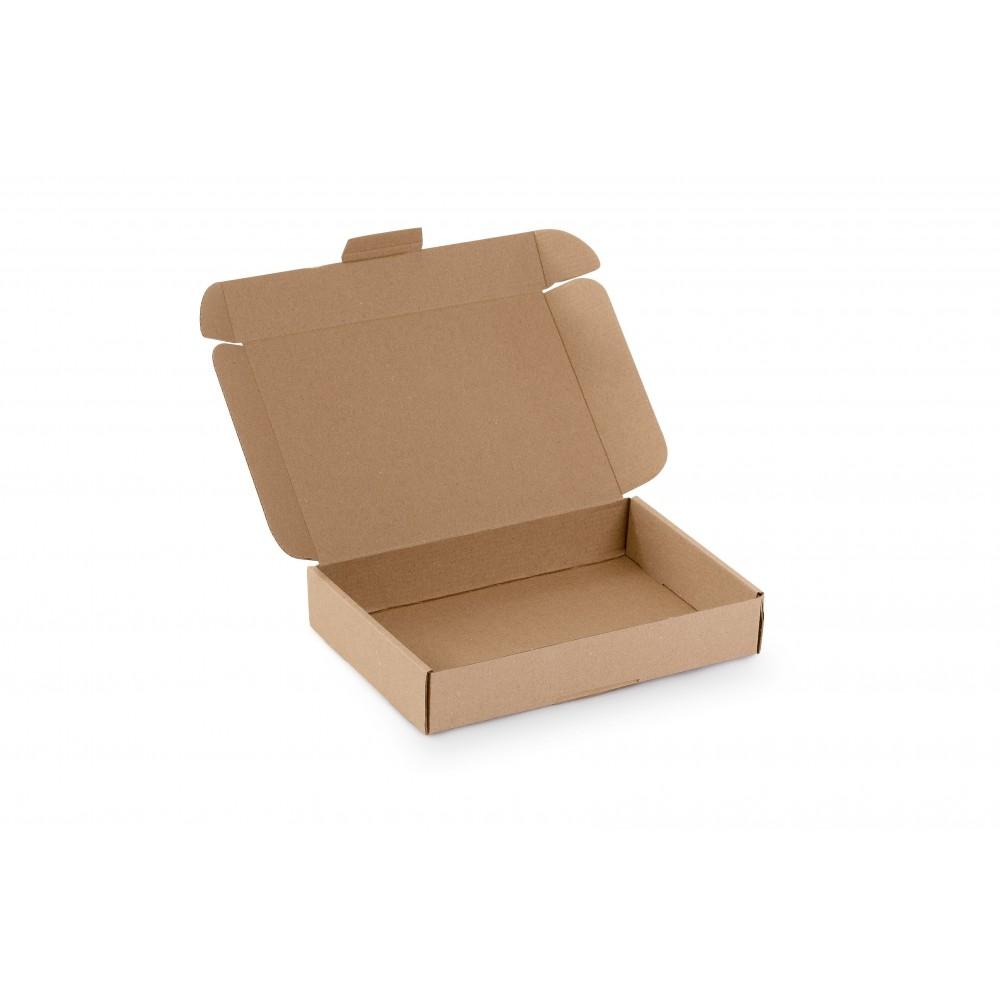 Karton fasonowy 225X155X41 (230x160x45) brązowy