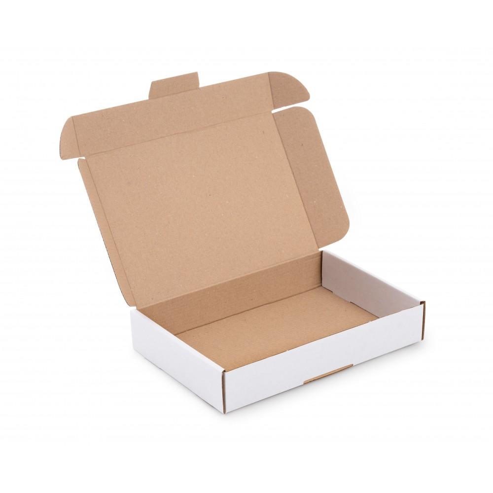 Karton fasonowy 240x170x45 (248x175x50) biały