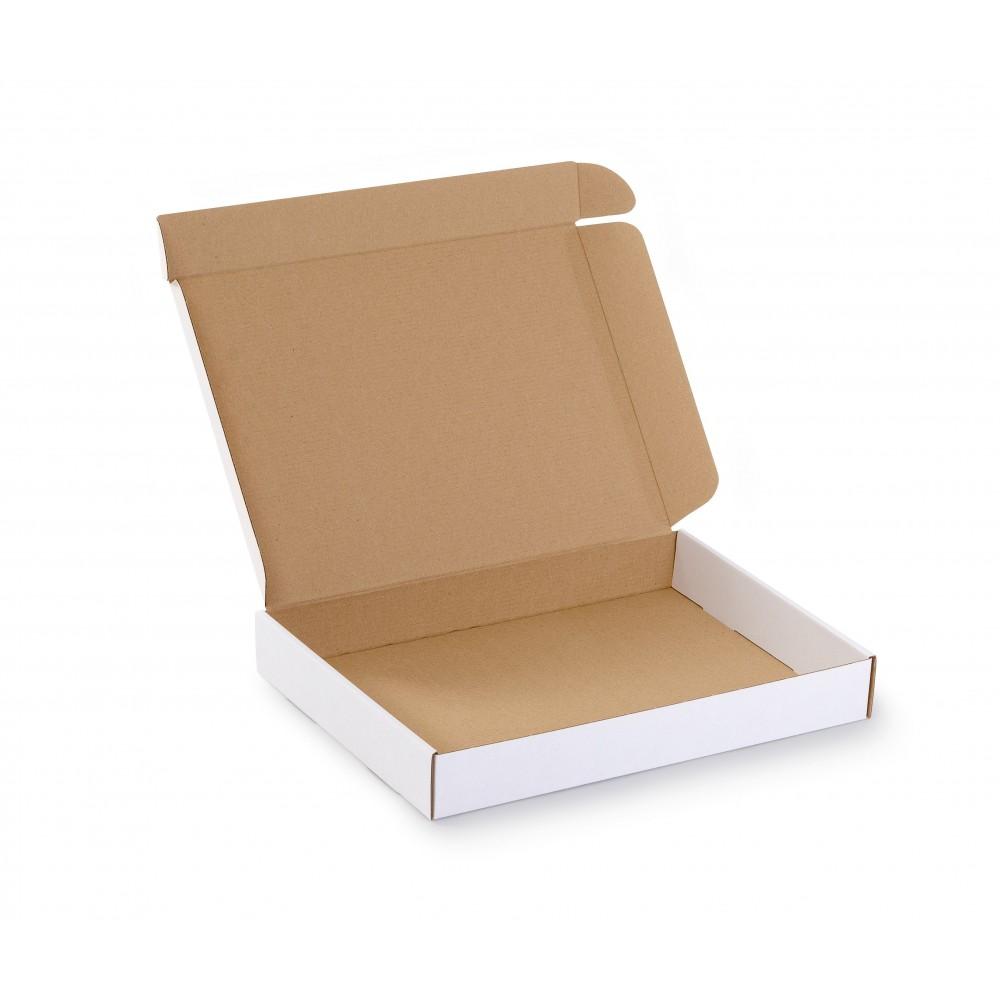 Karton fasonowy 334X244X45 (350x250x50) biały