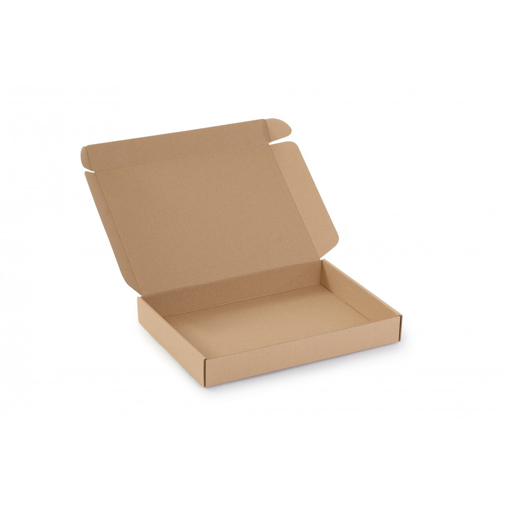 Karton fasonowy 334X244X45 (350x250x50) brązowy
