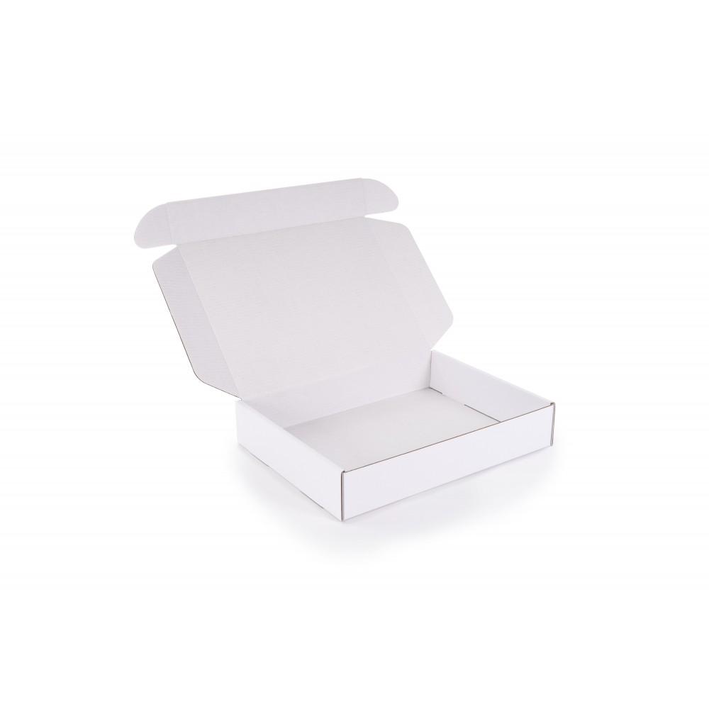 Karton 430x330x80mm biały połysk