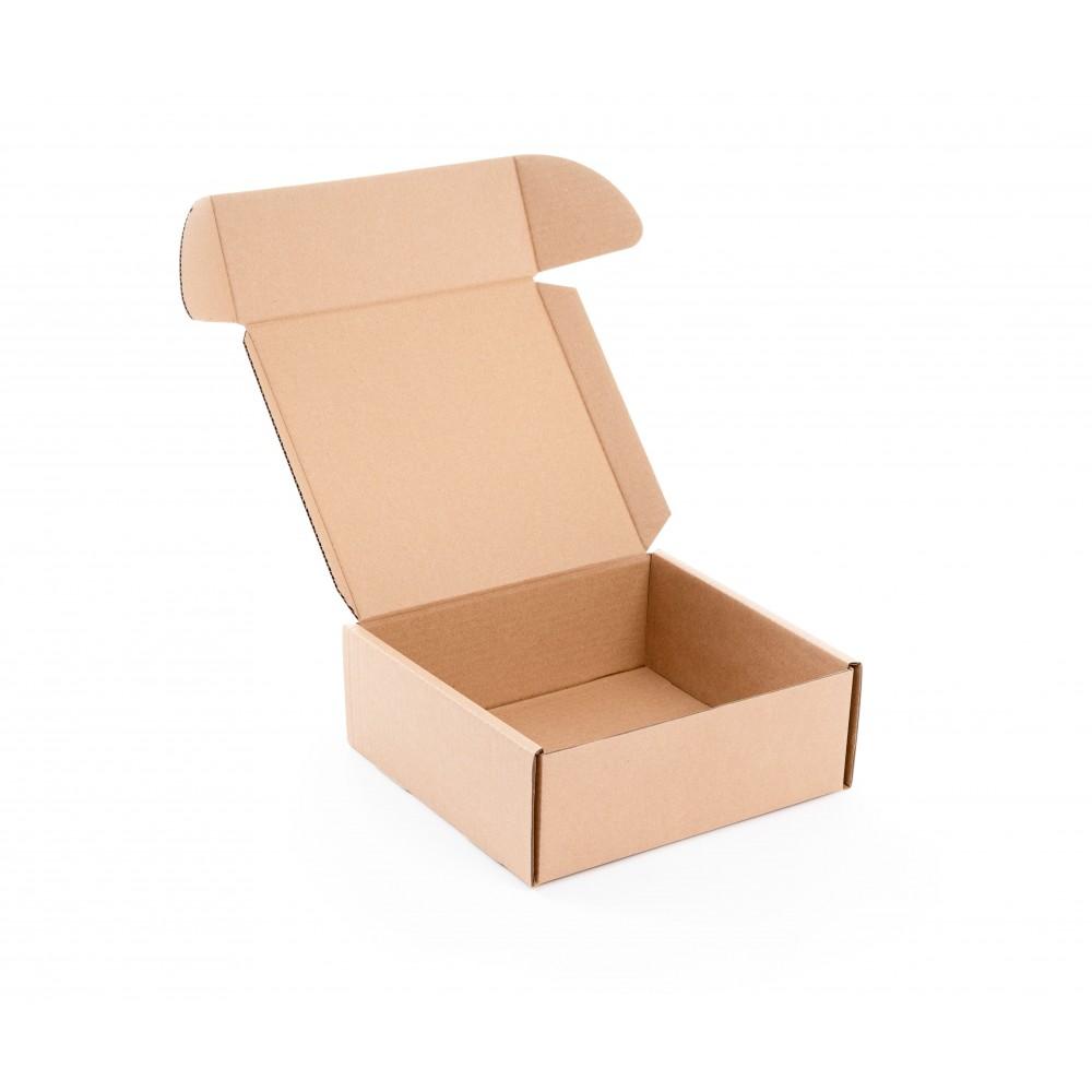 Karton fasonowy 245x230x90mm brązowy