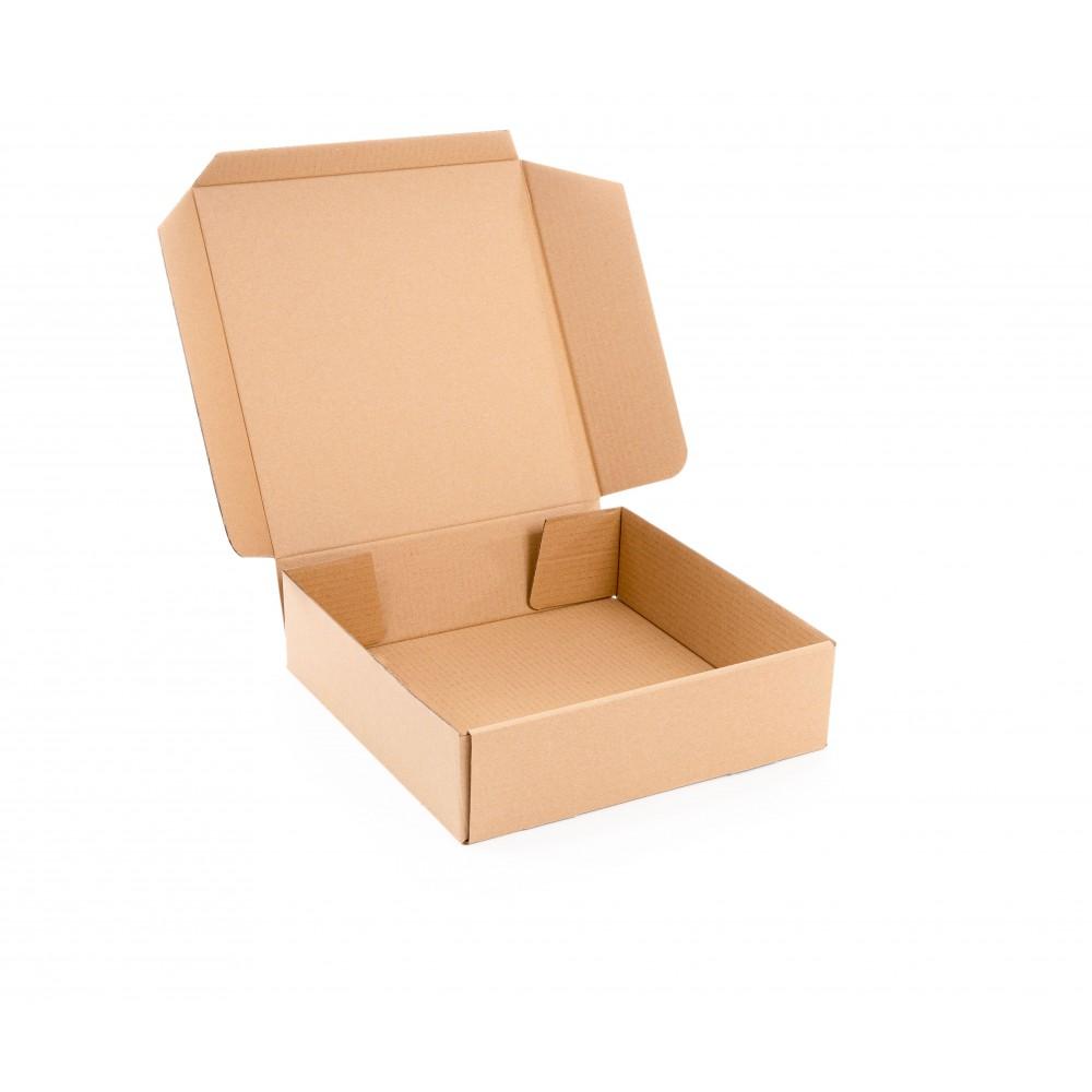 Karton fasonowy 325x325x90mm brązowy