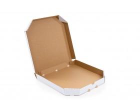 Karton fasonowy do pizzy 400x400x45mm biały_27855