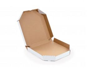 Karton fasonowy do pizzy 320x320x45mm biały_27857