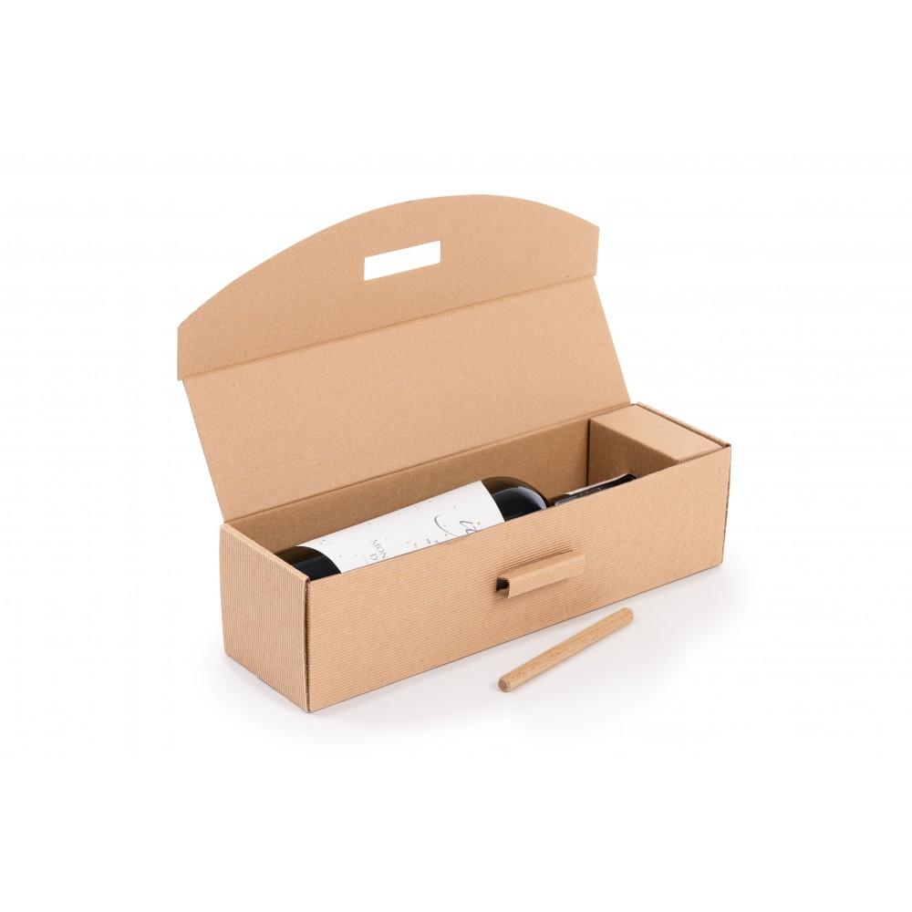 Kartony fasonowy ozdobny 325x80x80mm z kijkiem