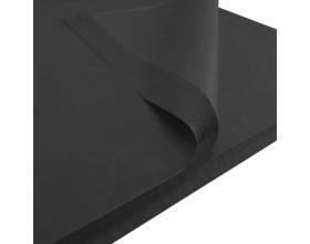 Bibuła gładka 50x75cm czarna 50 szt_28171