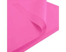 Bibuła gładka 50x75cm różowa 50 szt_28175