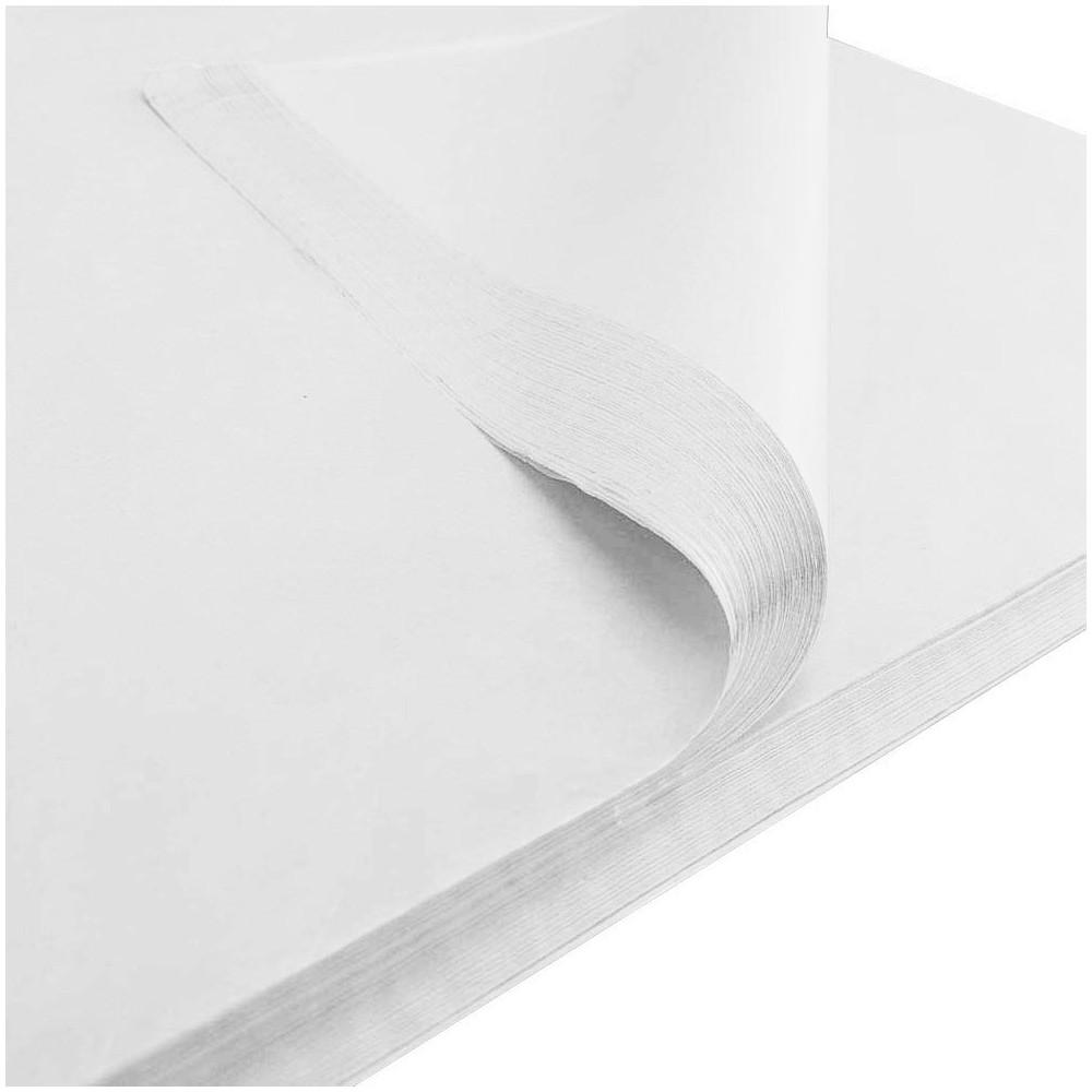 Bibuła gładka 50x70cm biała 50 szt